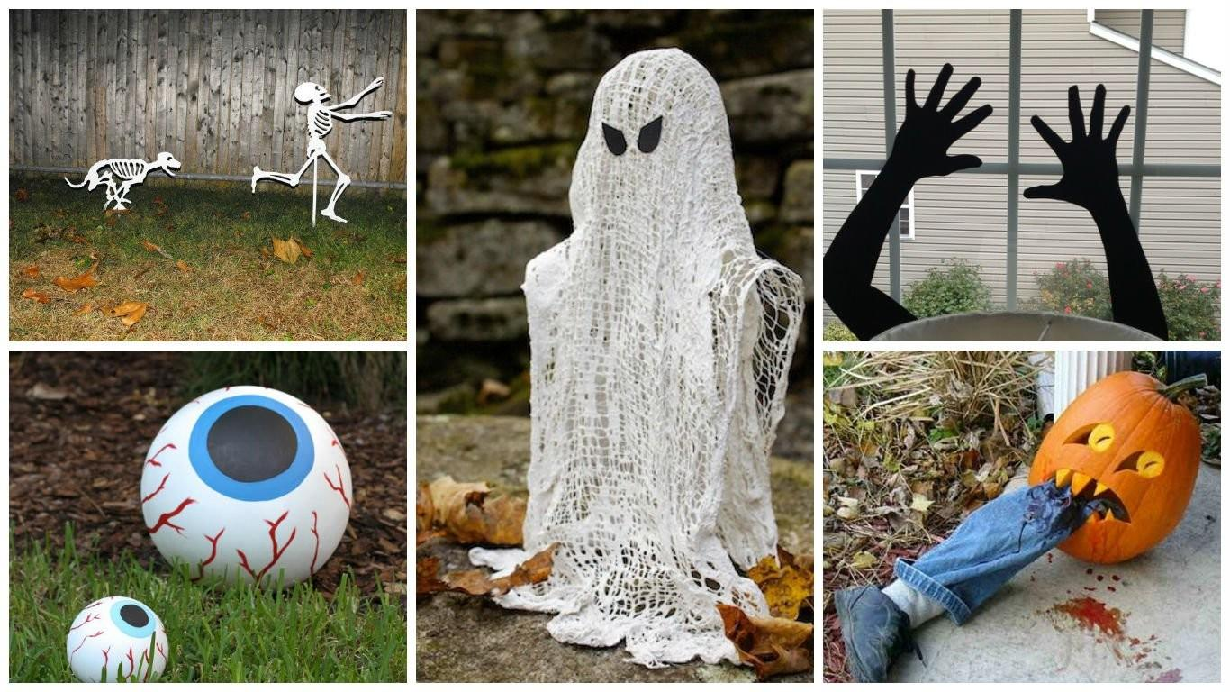 Easy Make Interesting Diy Halloween Decorations