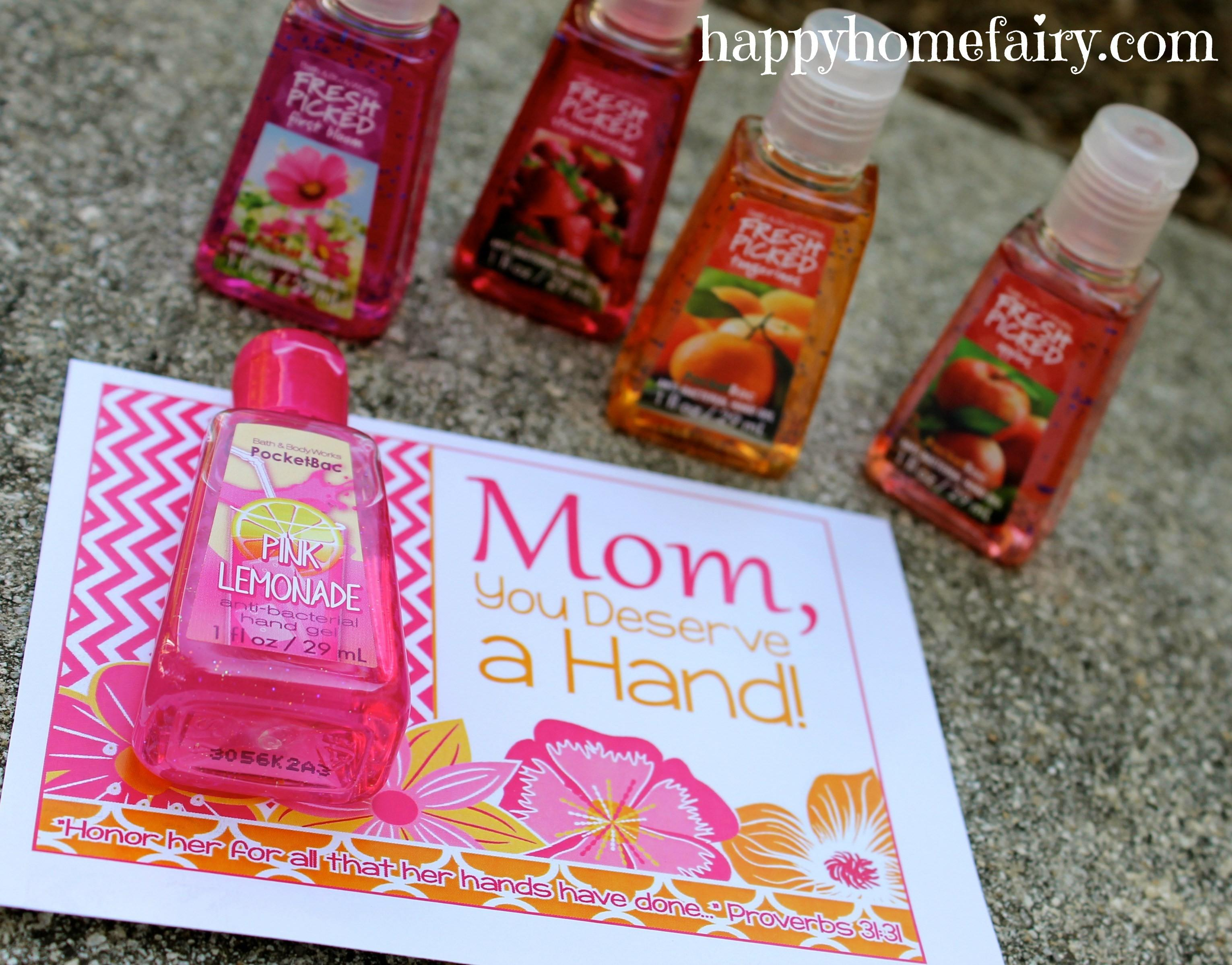 Easy Mother Day Gift Idea Printable Happy Home