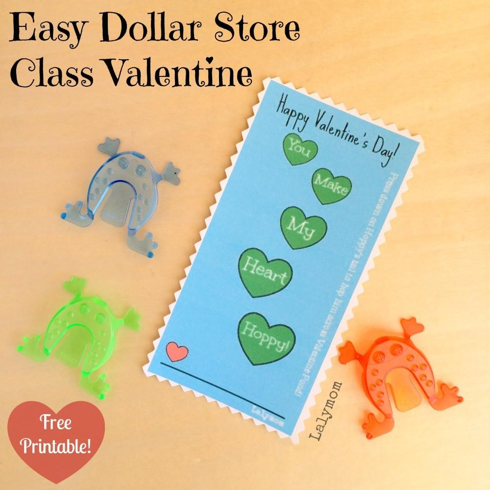 Easy Non Candy Diy Valentine Day Card Lalymom
