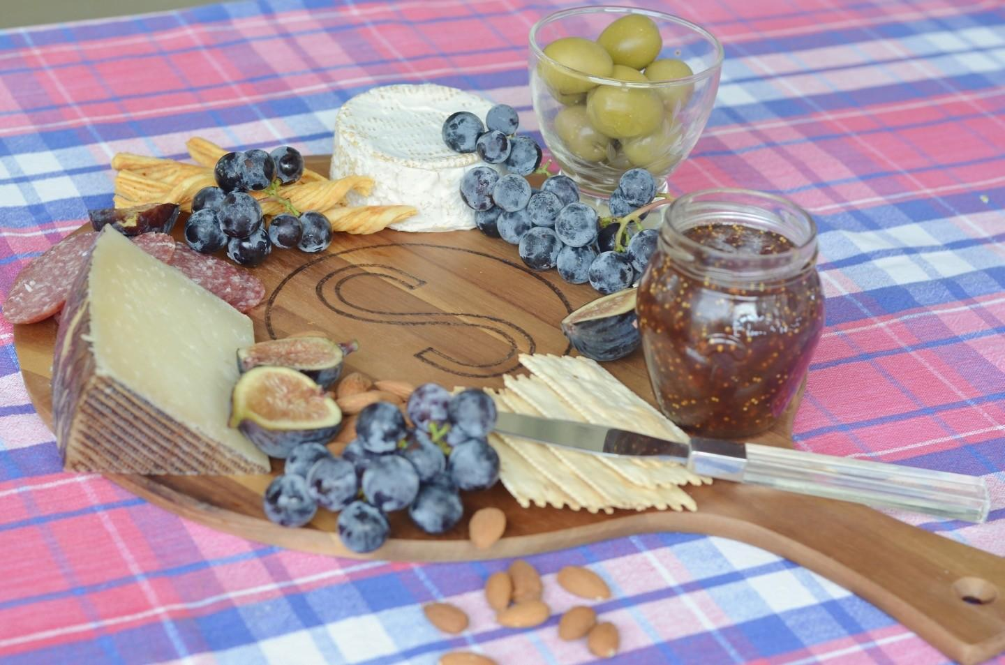 Easy Personalized Cheese Board Charlotte House