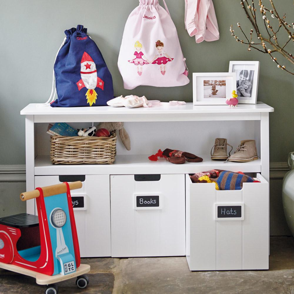 Easy Reach Toy Storage Unit Play Area