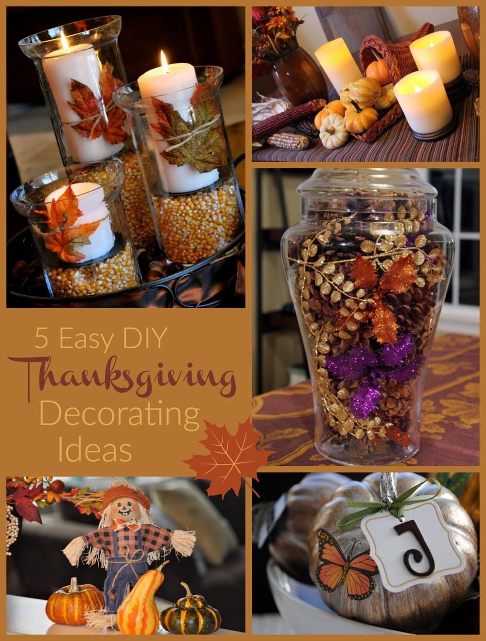 Easy Thanksgiving Decorating Ideas