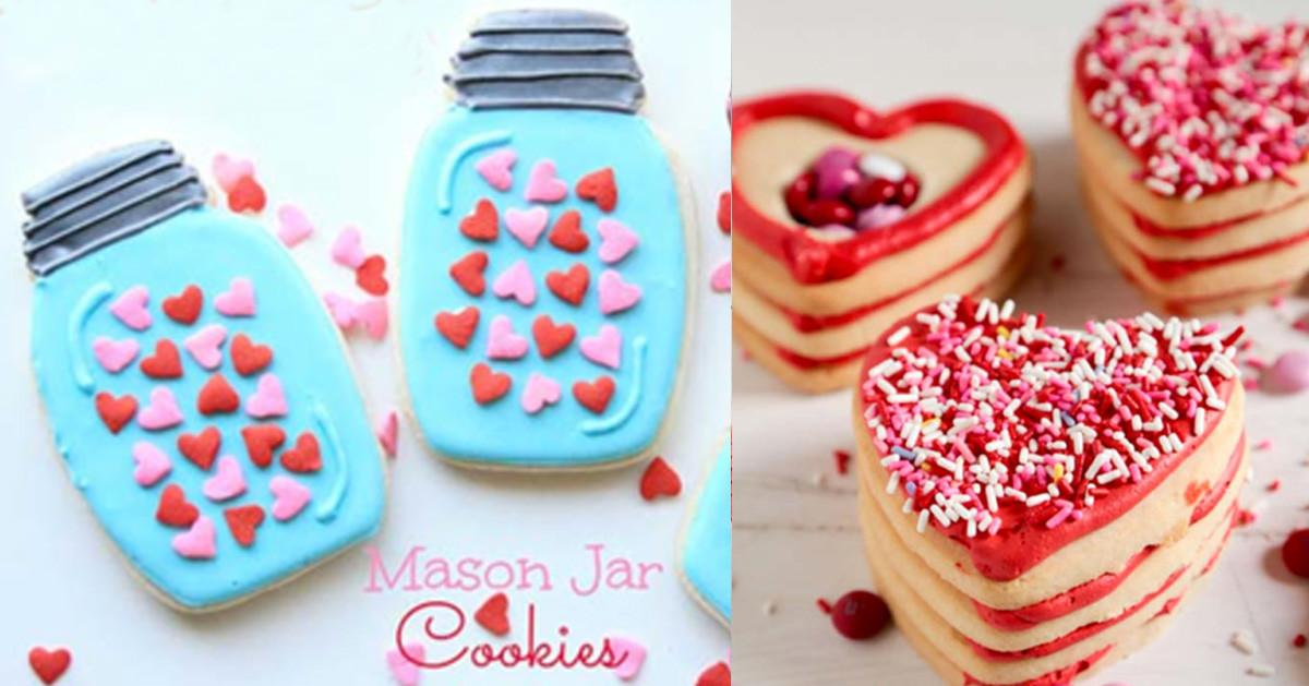 Easy Valentine Cookie Recipes Diy Projects Teens