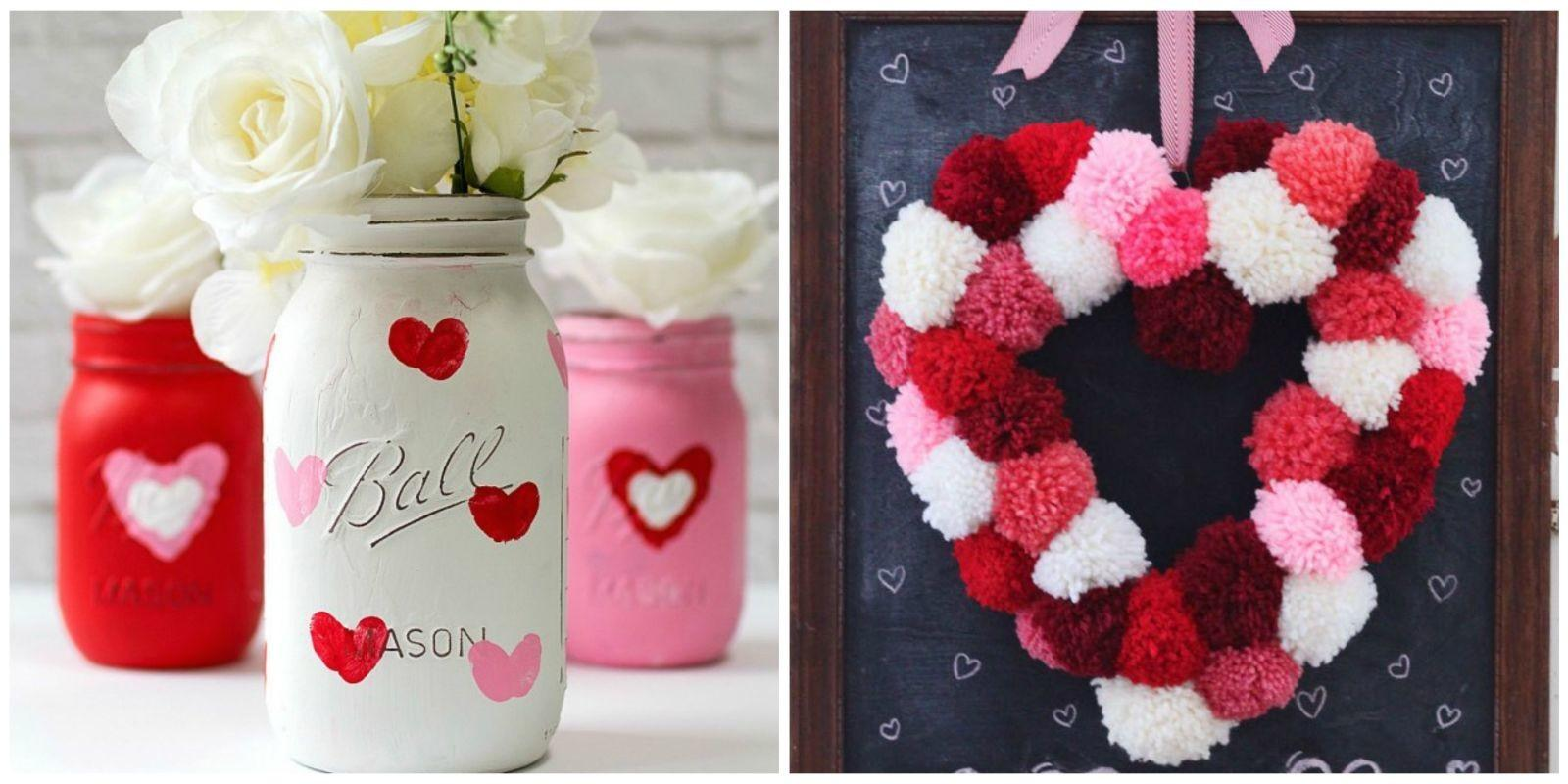 Easy Valentine Day Crafts Diy Decorations