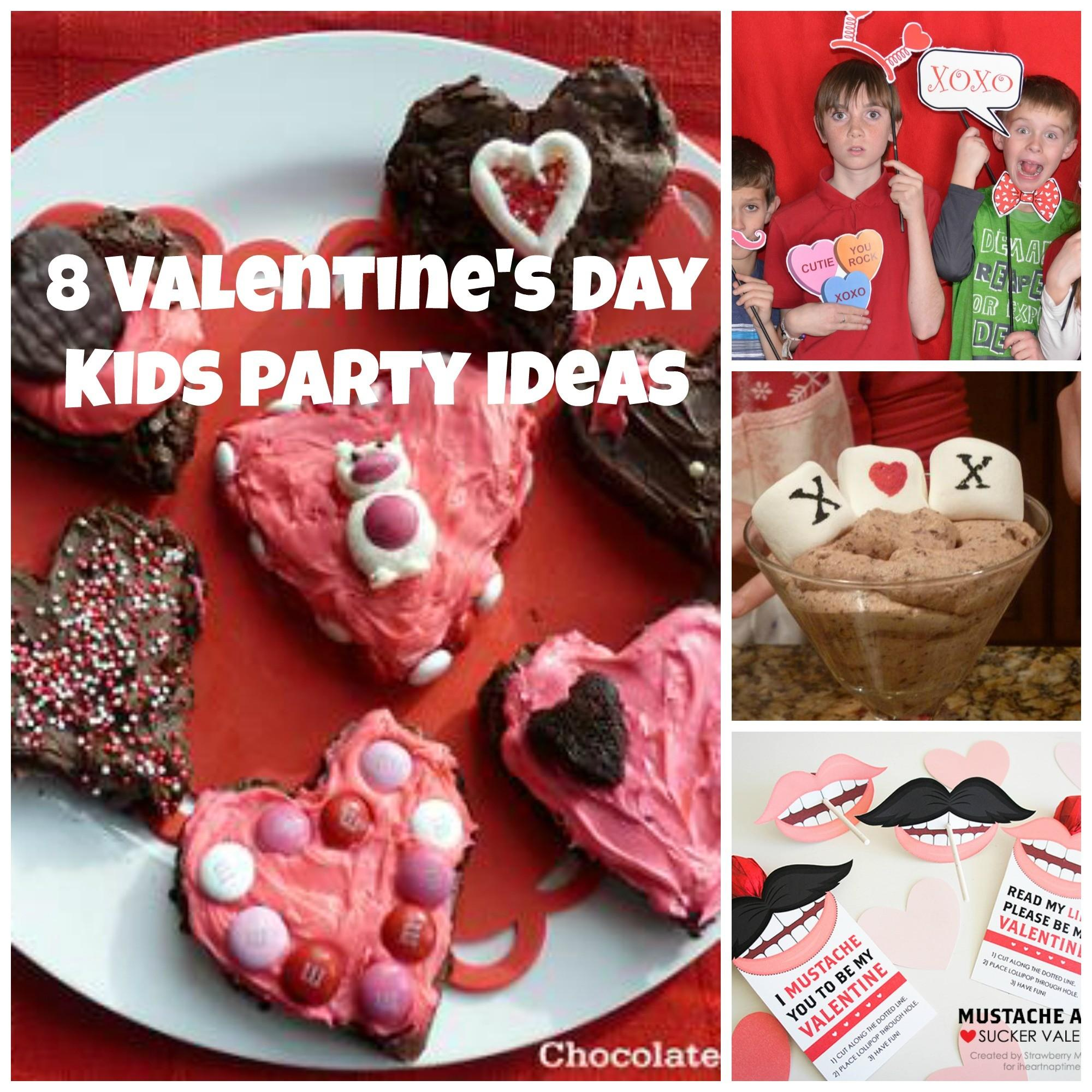 Easy Valentine Day Kids Party Ideas Chocolate Cake
