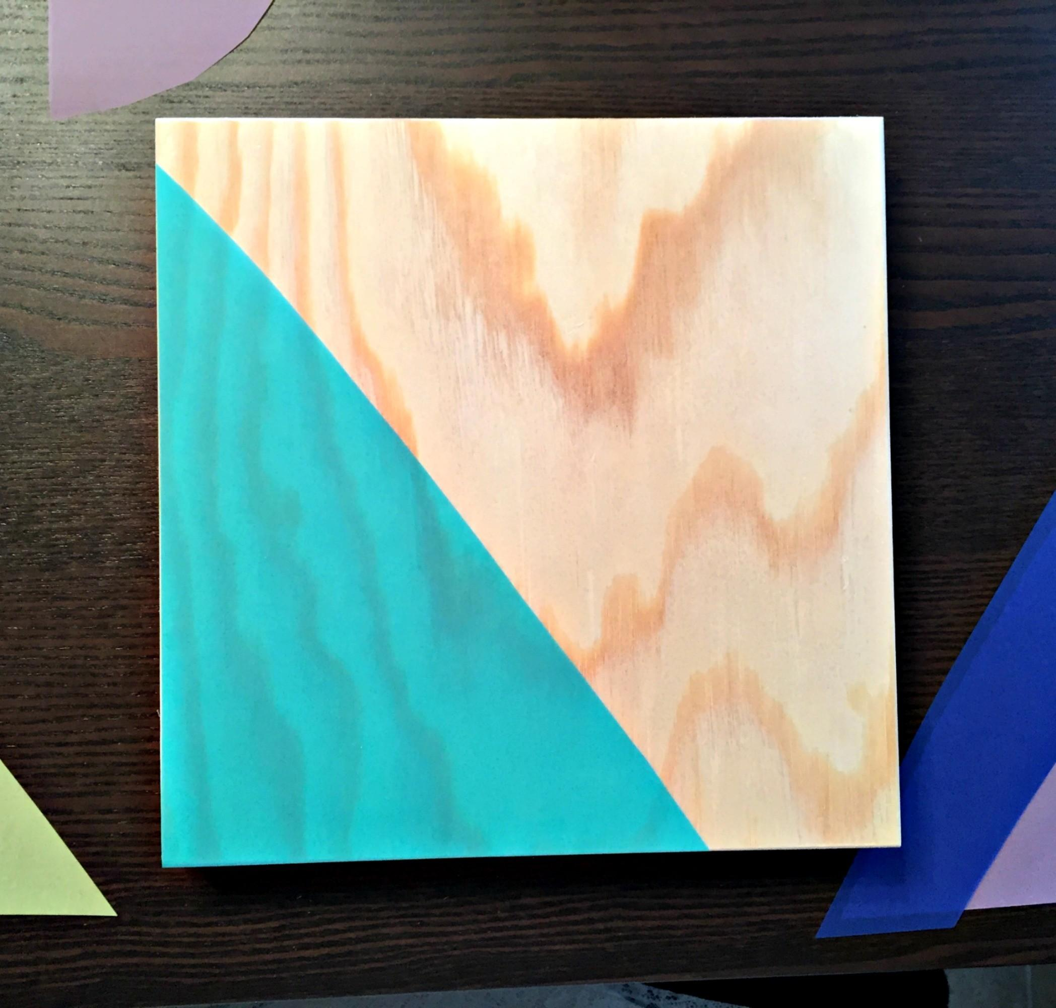 Easy Wall Art Geometric Wooden Canvas Project Darice