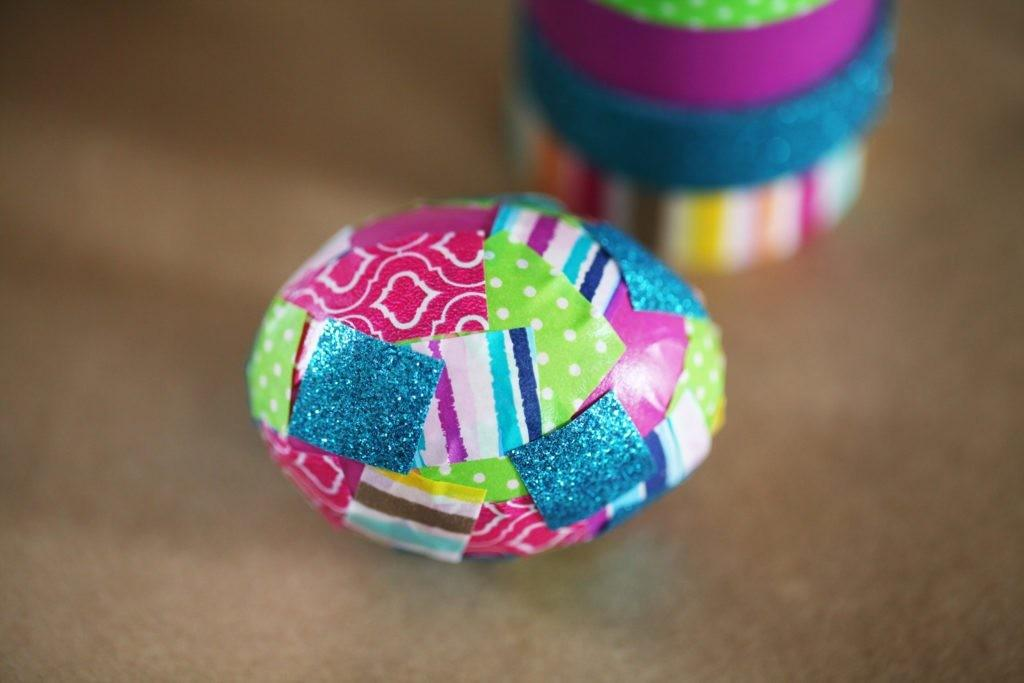 Easy Washi Tape Easter Eggs Even Little Bunnies Can