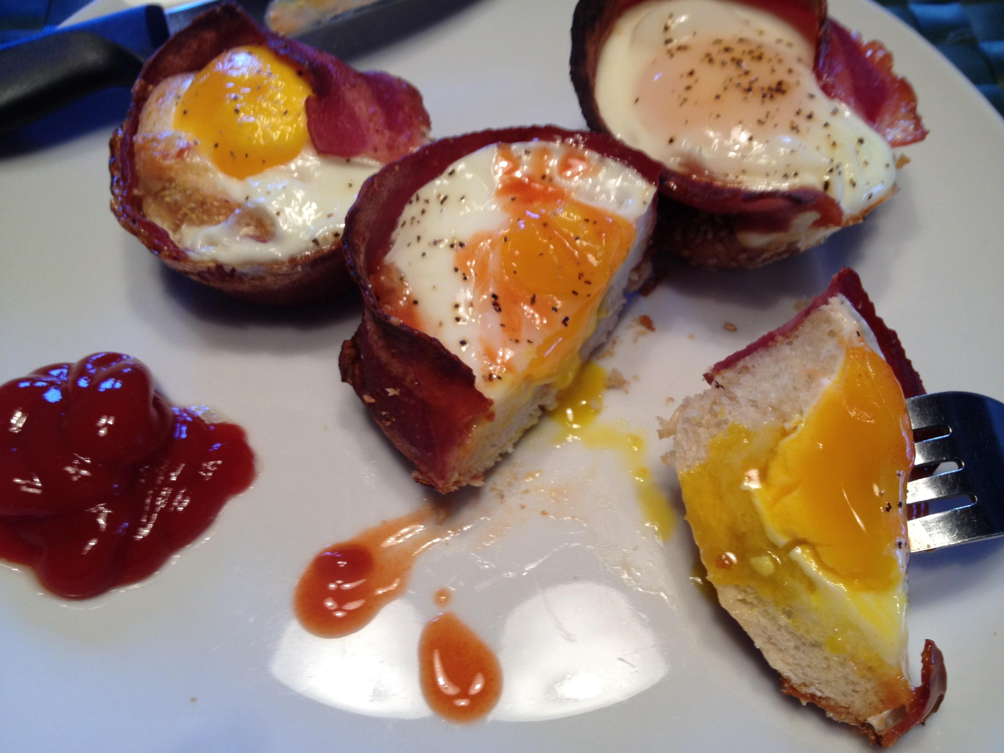 Easy Weekend Breakfast Diy Bacon Toast Cups There