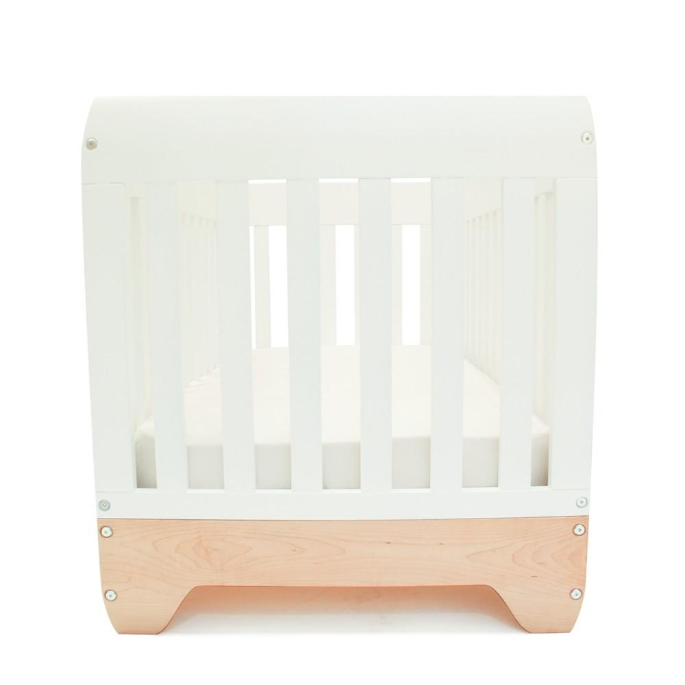 Echo Baby Cot Toddler Bed White Maple Nursery Cots