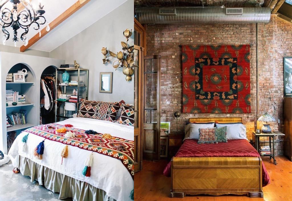 Eclectic Bedroom Designs Give Creative Ideas