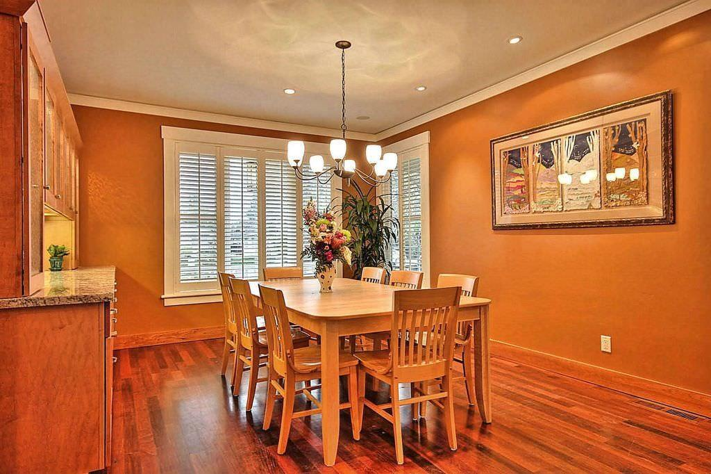 Most Beautiful Orange Dining Rooms That Make A Statement Pictures Decoratorist