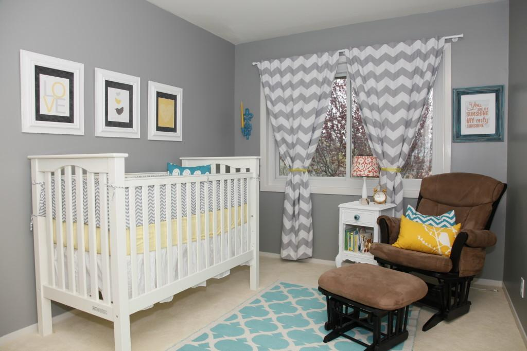 Eclectic Gender Neutral Nursery Project