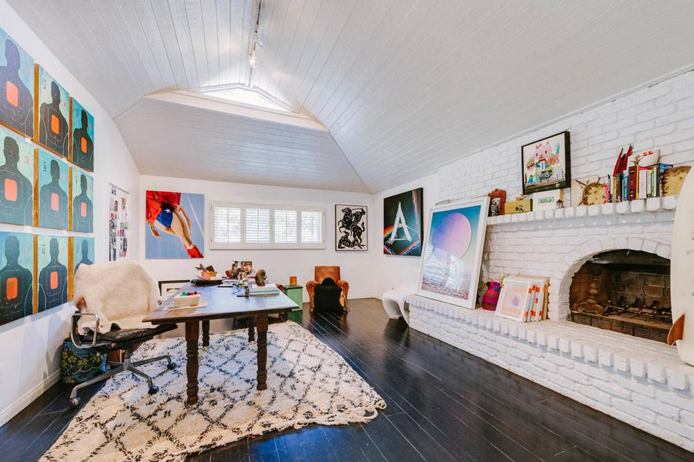 Eclectic Home Office Decor Simple Attractive