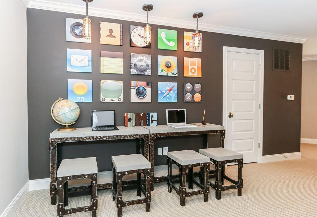 Eclectic Home Office Zillow Digs
