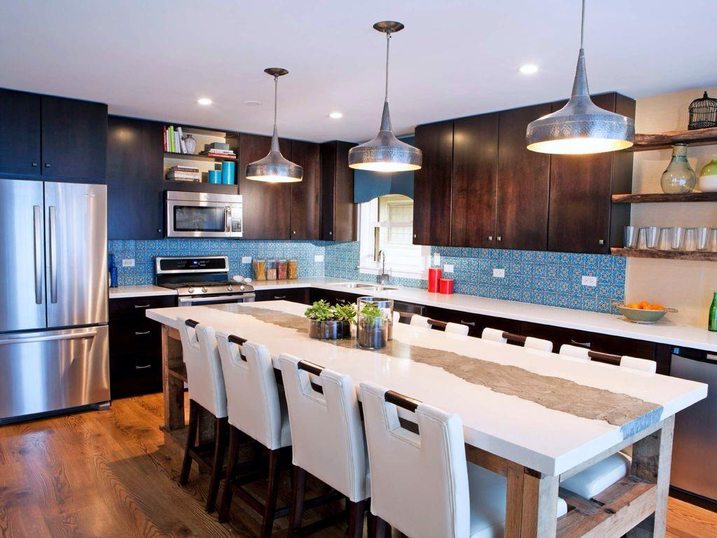Eclectic Kitchen Shaped Pendant Light Zillow