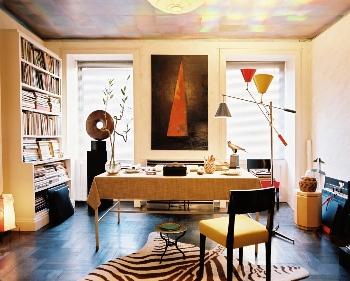 Eclectic Modern Work Space Home Office Design Ideas Lonny
