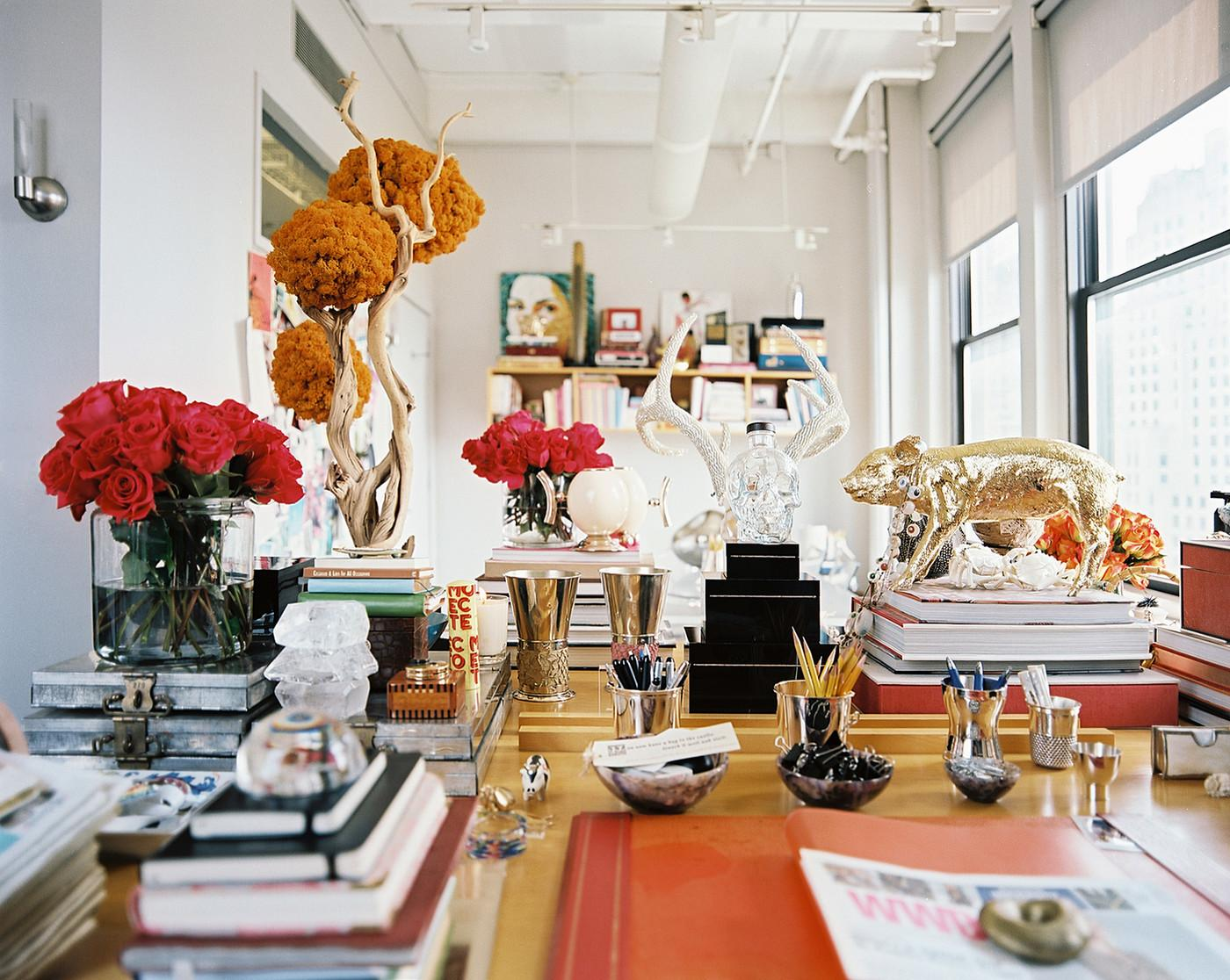 Eclectic Work Space Home Office Design Ideas Lonny