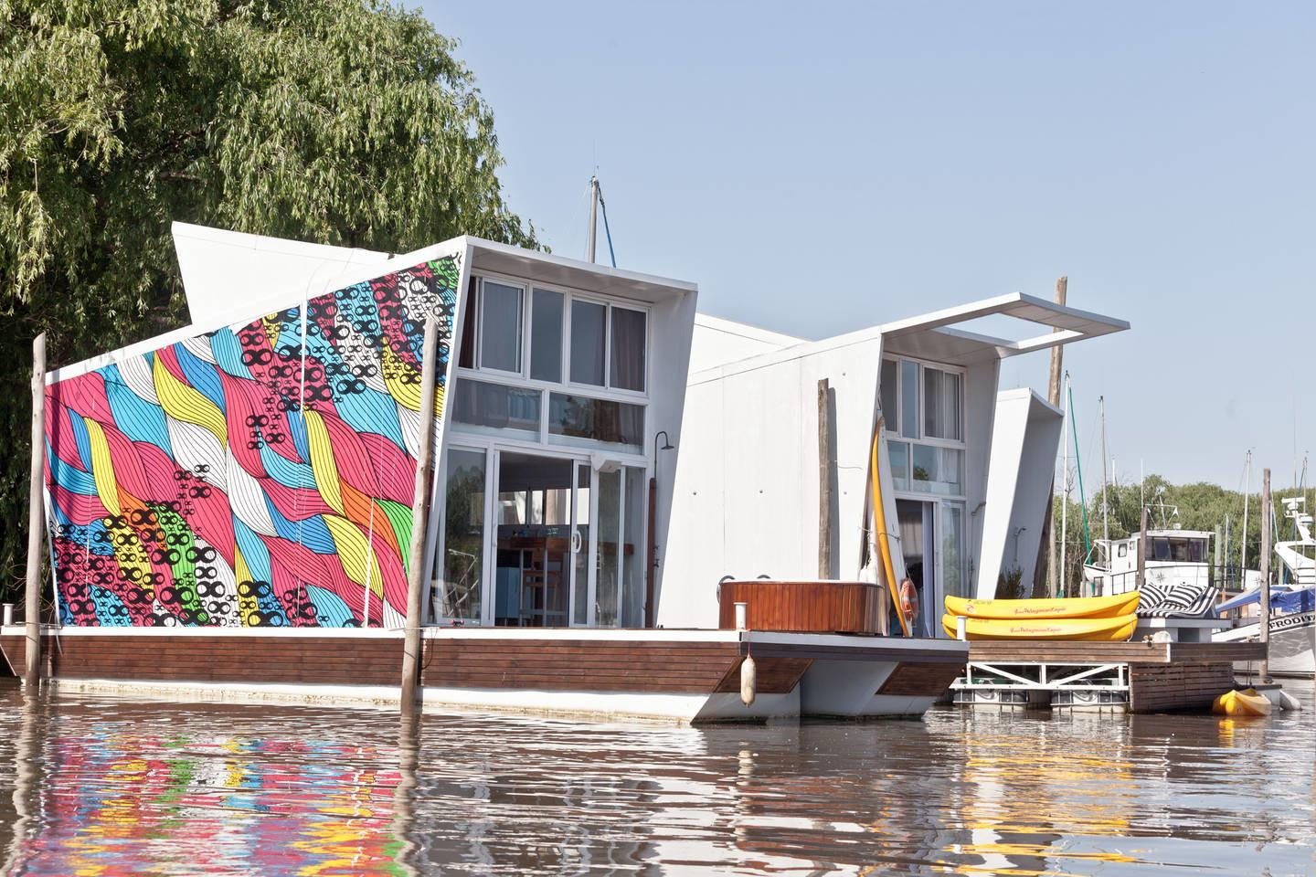 Eco Barrio Flotante Floating Houses San Fernando