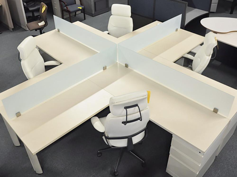 Eco Friendly High Tech Open Plan Desk System Arnolds