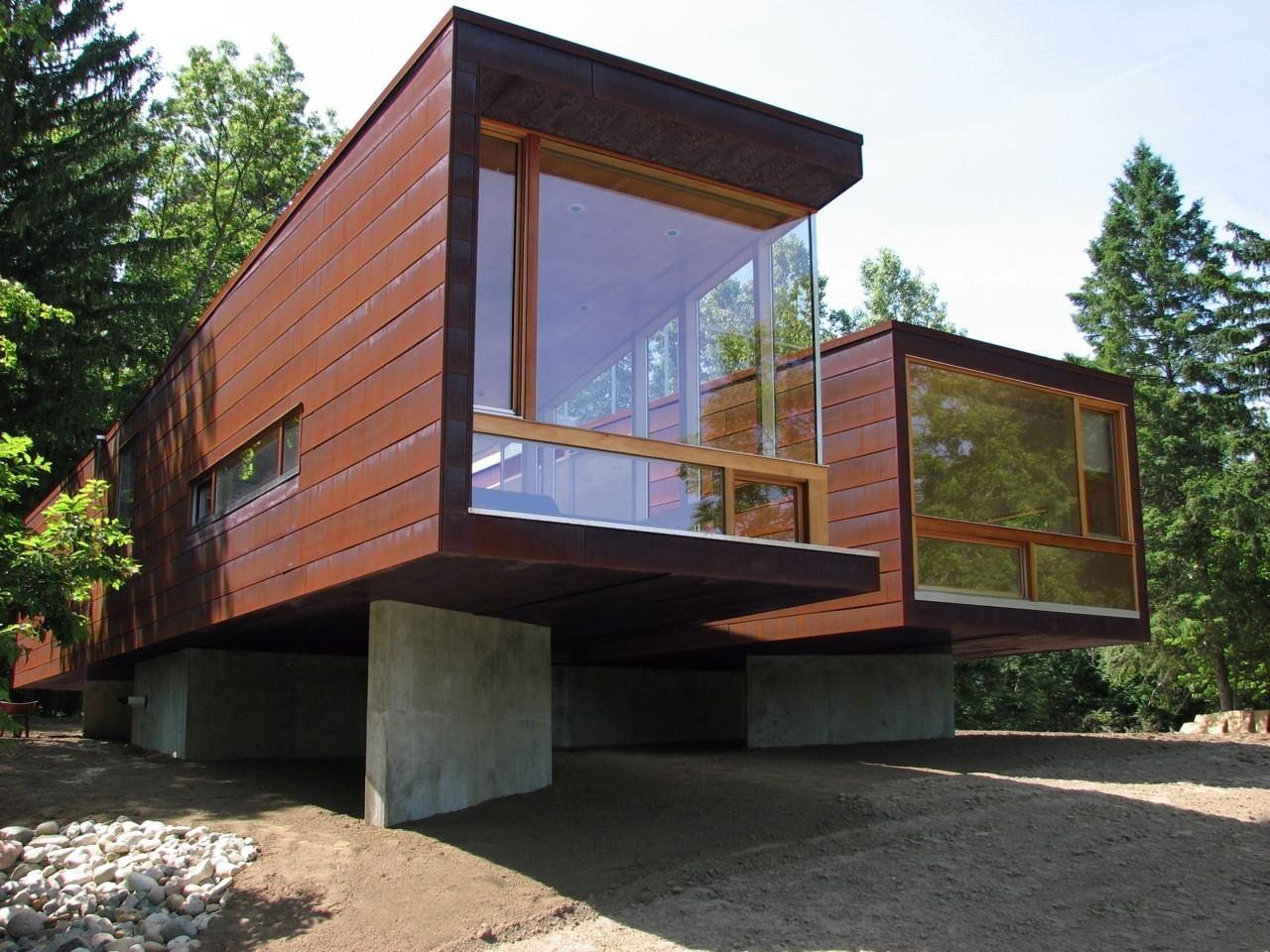 Eco Friendly Home Design Ideas Koby Cottage