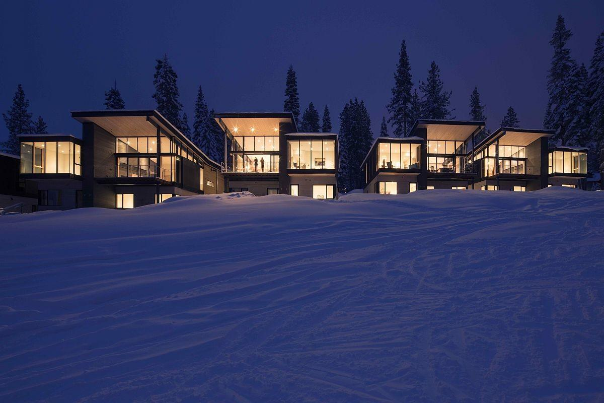 Eco Friendly Mountainside Homes Reimagine Classic Ski