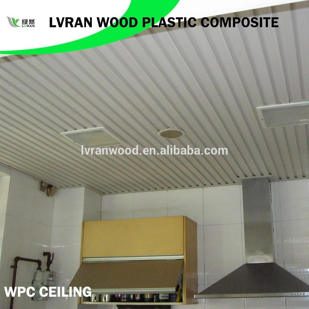 Eco Friendly New Material Wpc Bathroom Ceiling