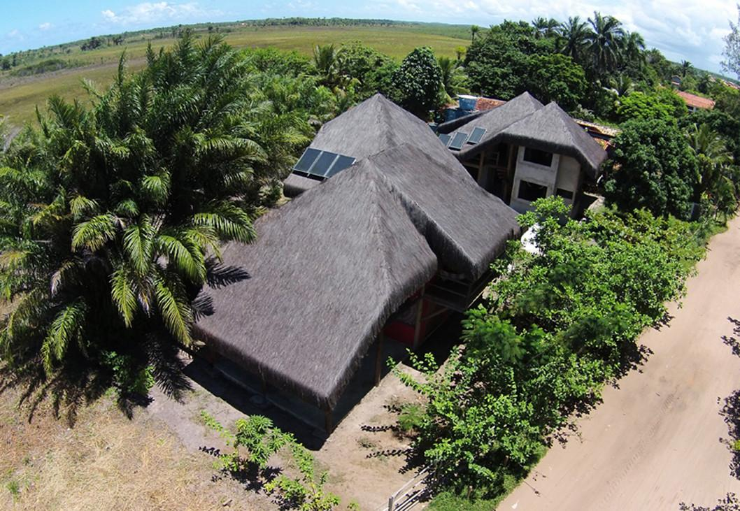 Eco Friendly Origami House Unfolds Brazilian Beach
