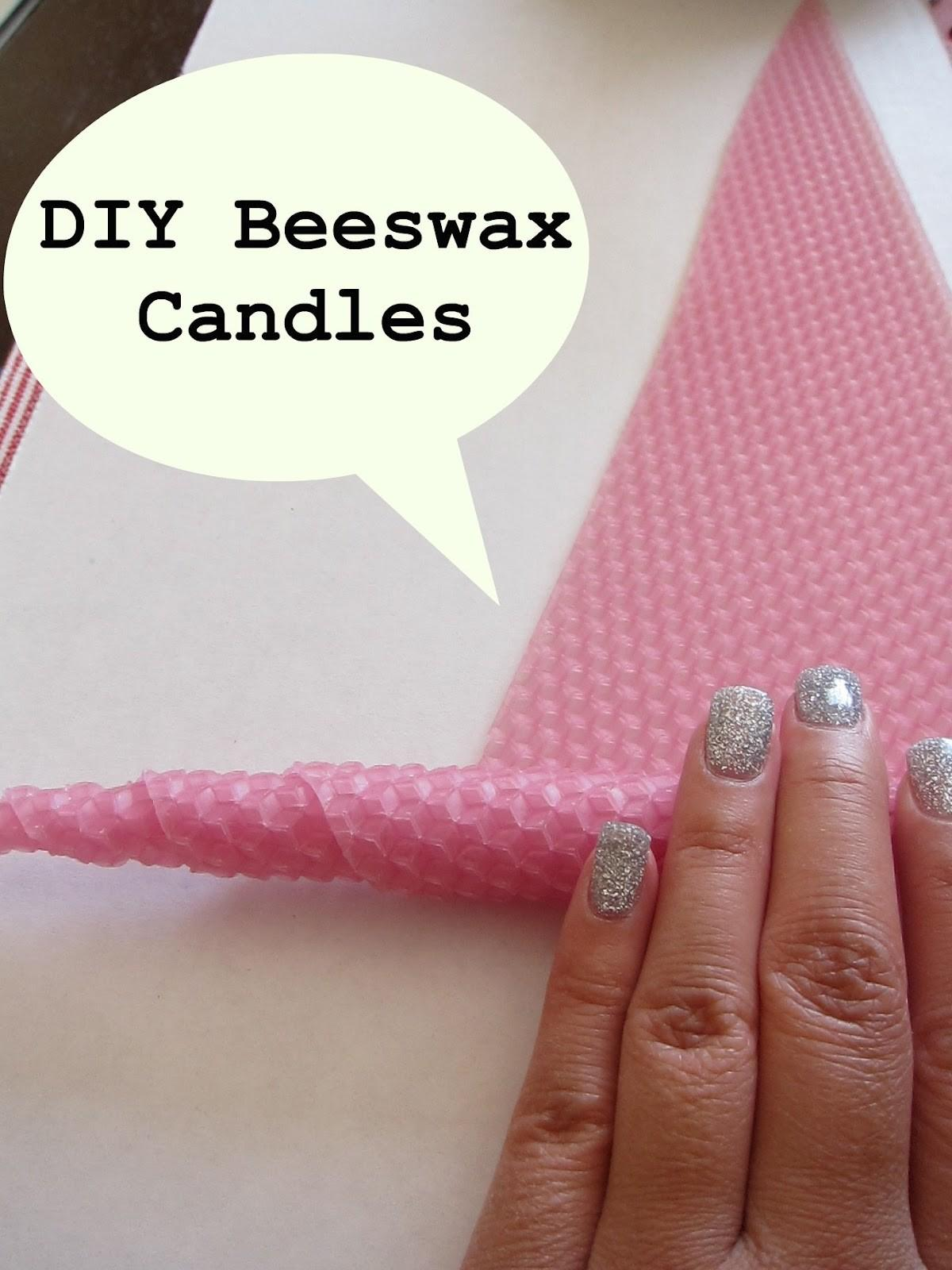 Eco Monster Diy Beeswax Candles