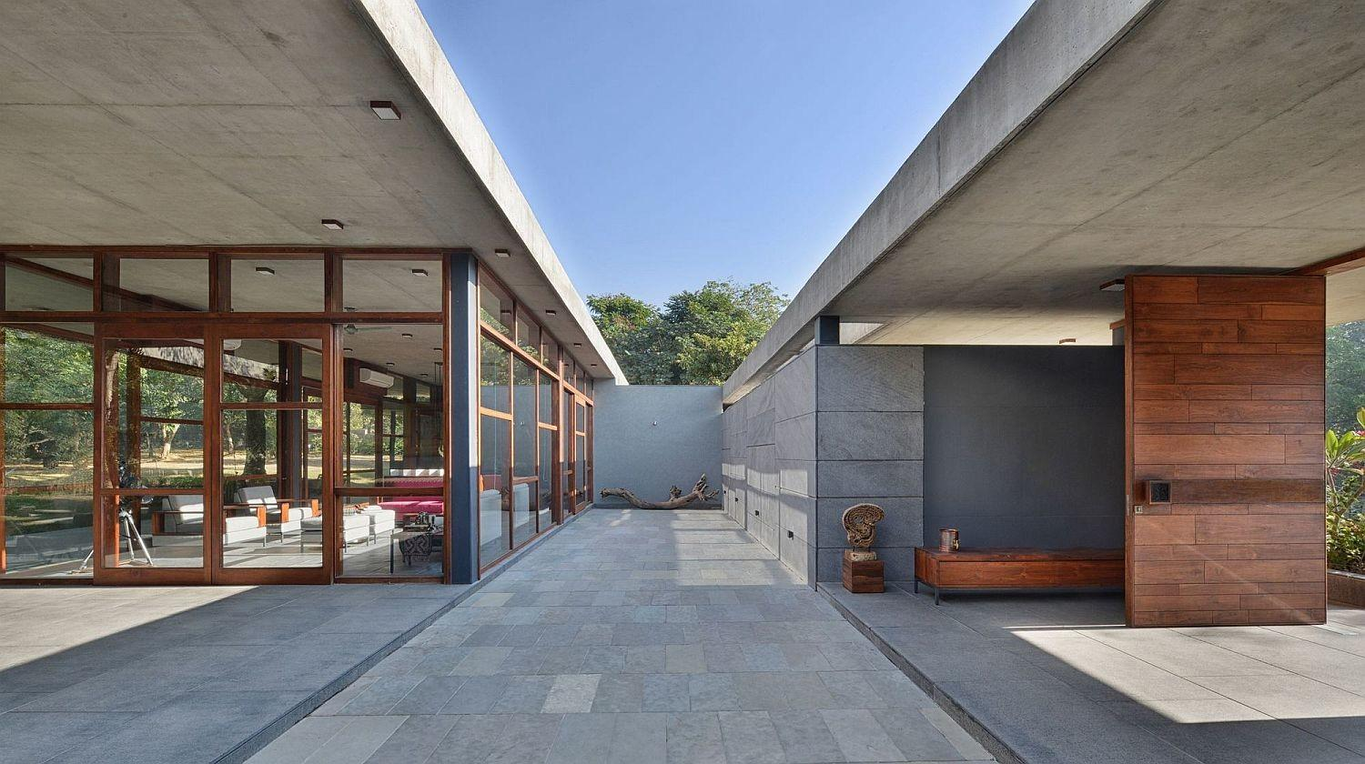 Eco Sensitive Holiday Home Relies Locally Sourced Stone