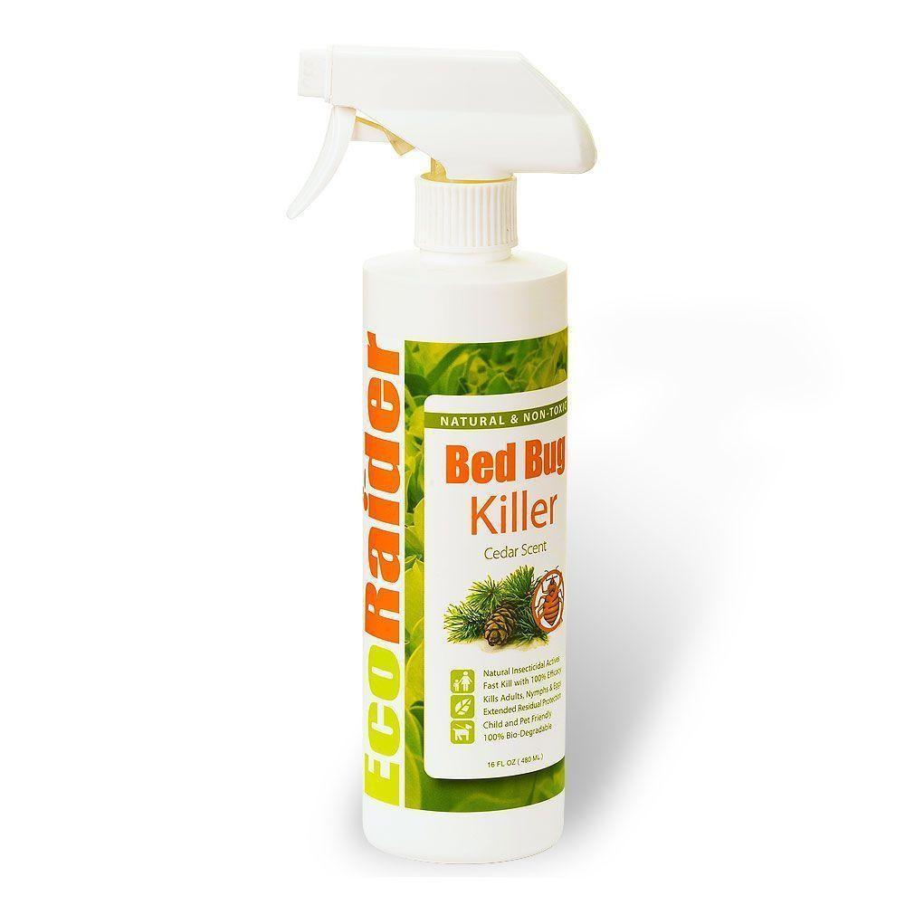 Ecoraider Bed Bug Killer Spray Extended Protection