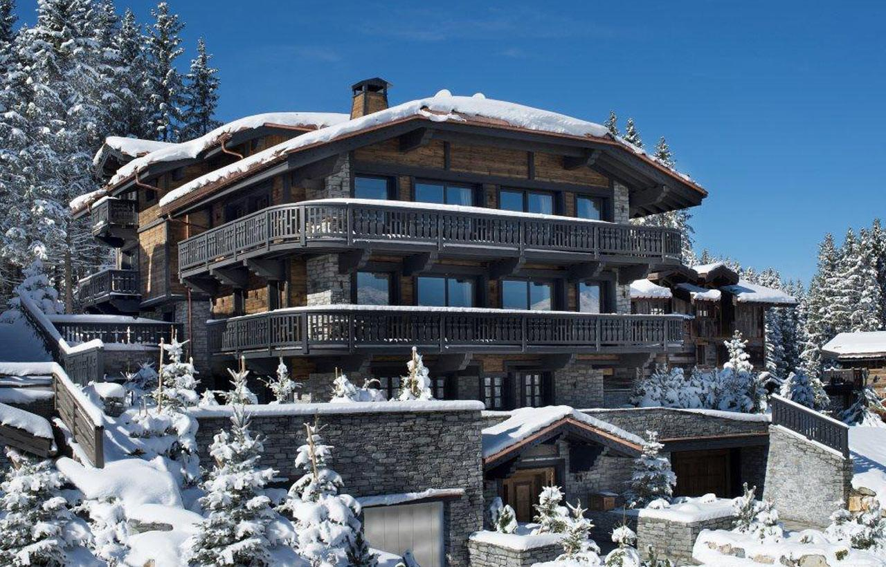 Edelweiss Chalet Appartement Luxe Courchevel