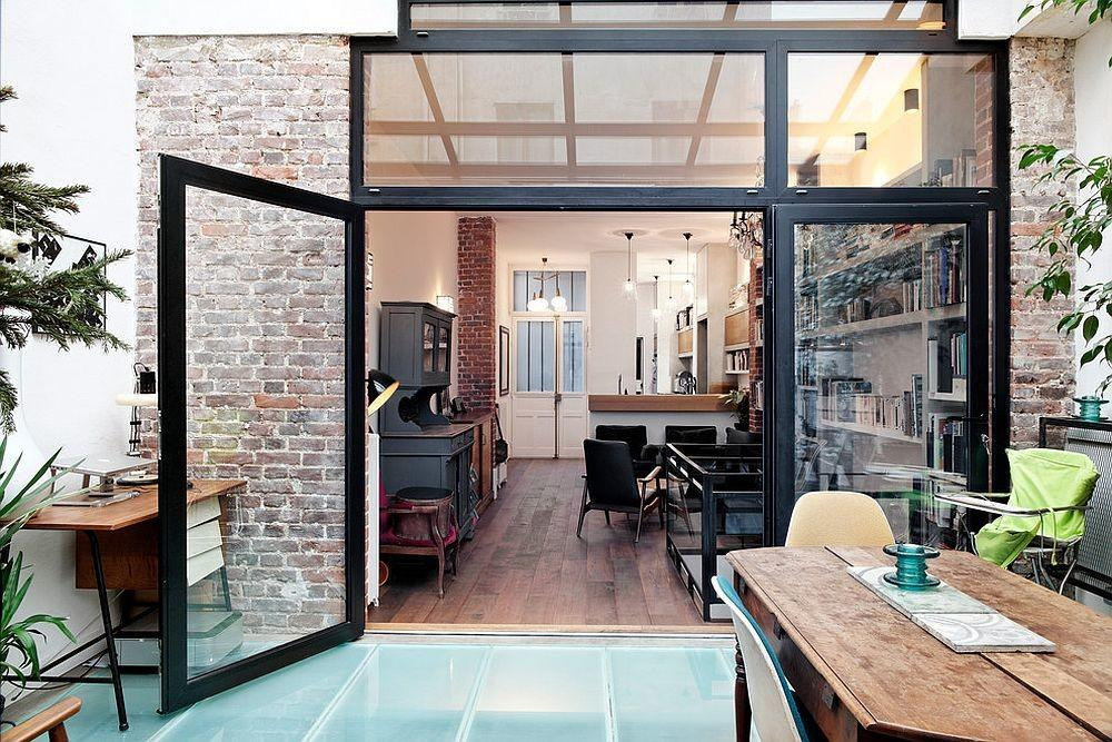 Edgy Exquisite Industrial Sunrooms Modern Sheen