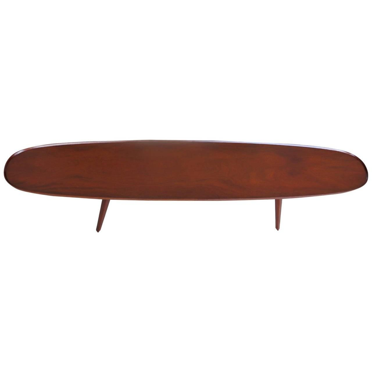 Edward Wormley Dunbar Surfboard Table 1stdibs