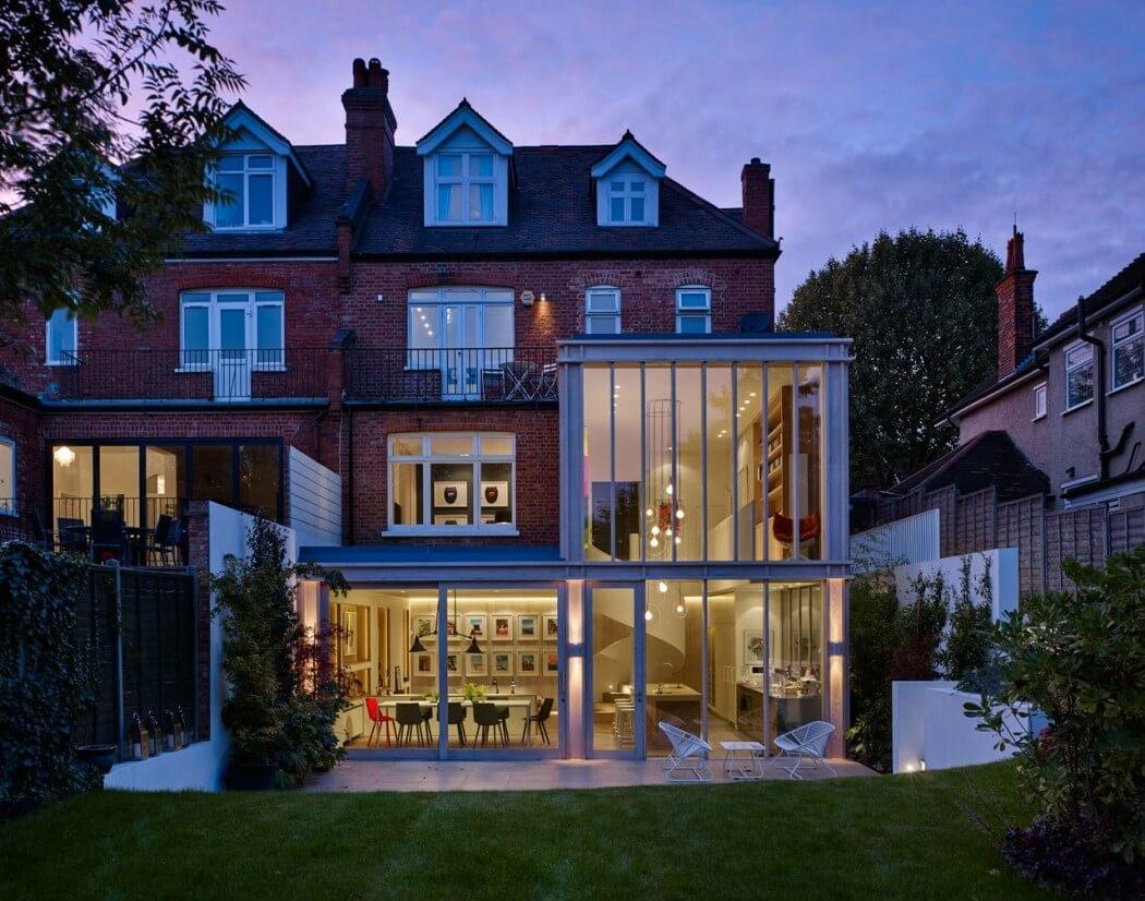 Edwardian Home London Gets Contemporary Addition