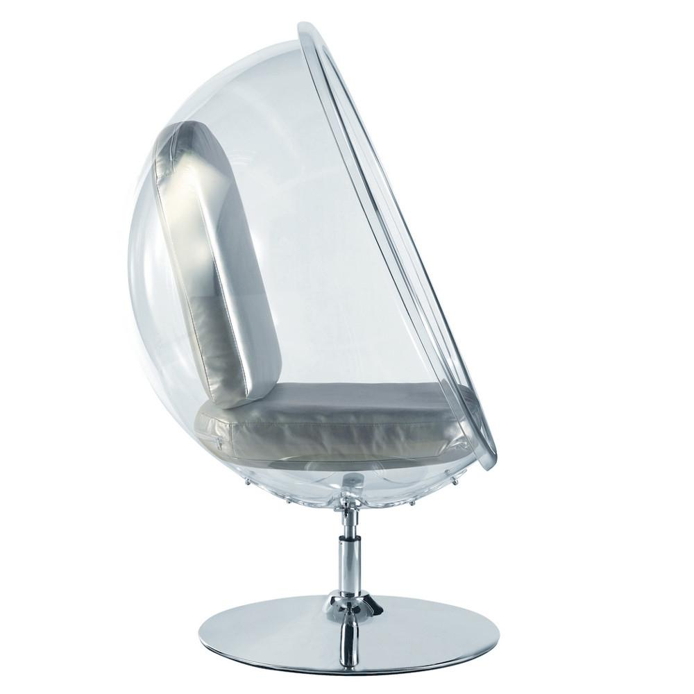 Eero Aarnio Bubble Style Stand Chair Silver