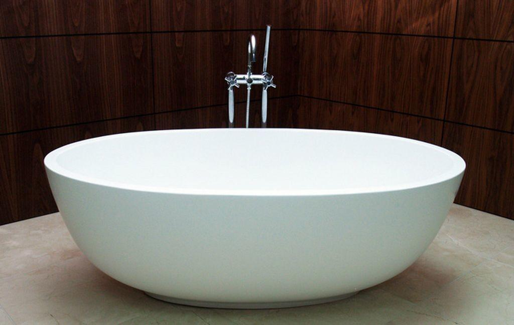 Efficient Bathroom Space Saving Narrow Bathtubs