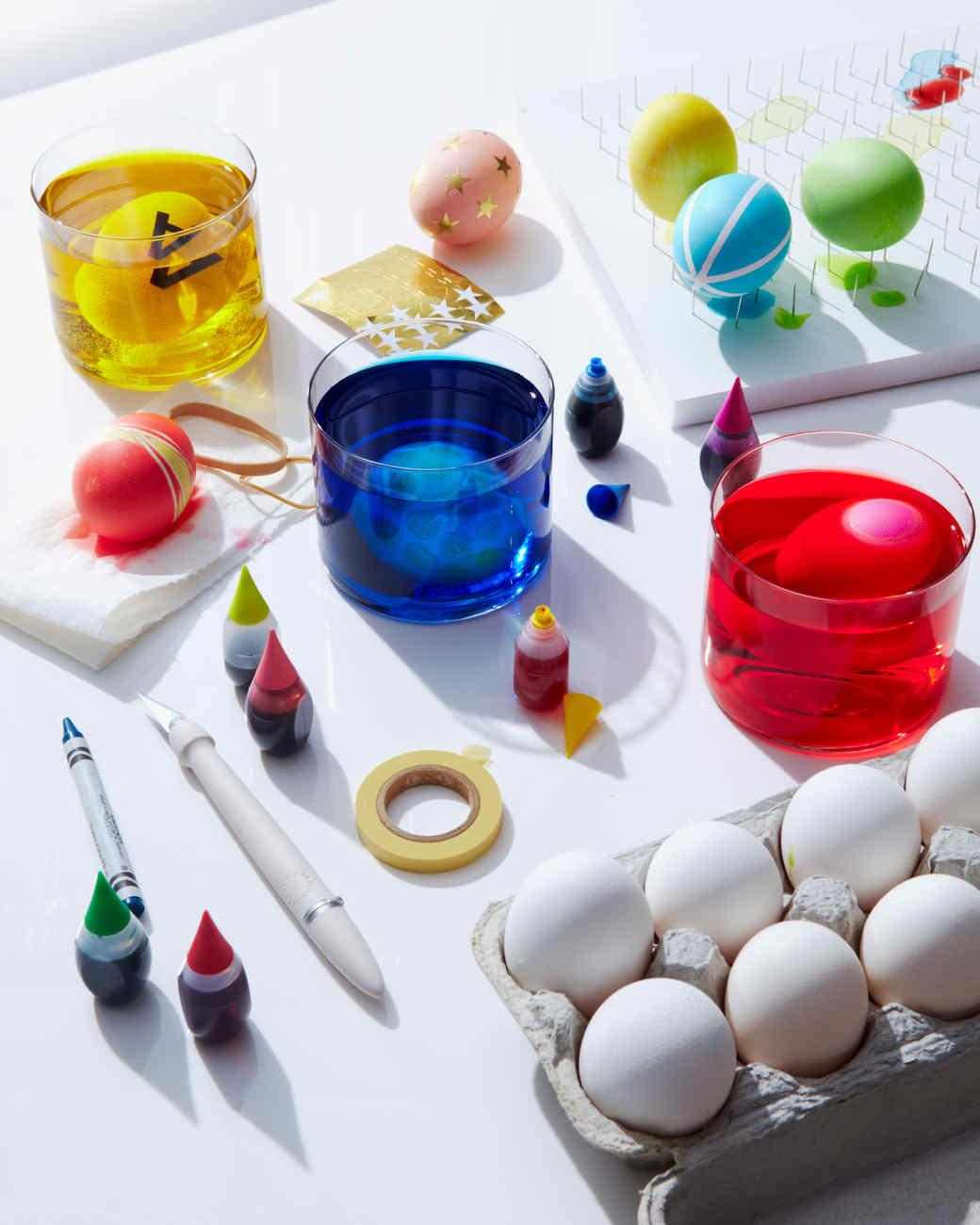 Egg Dyeing 101 Martha Stewart