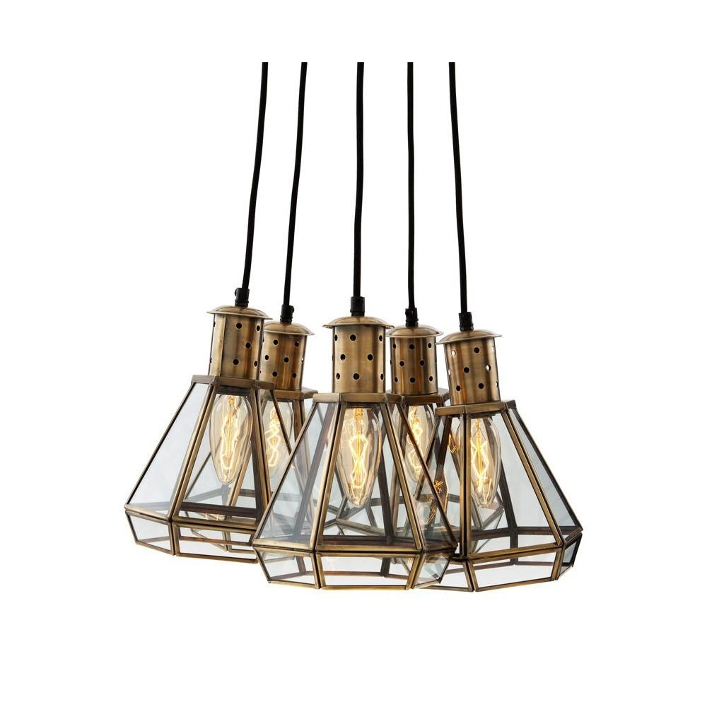 Eichholtz Polygon Hanging Lamp Houseology