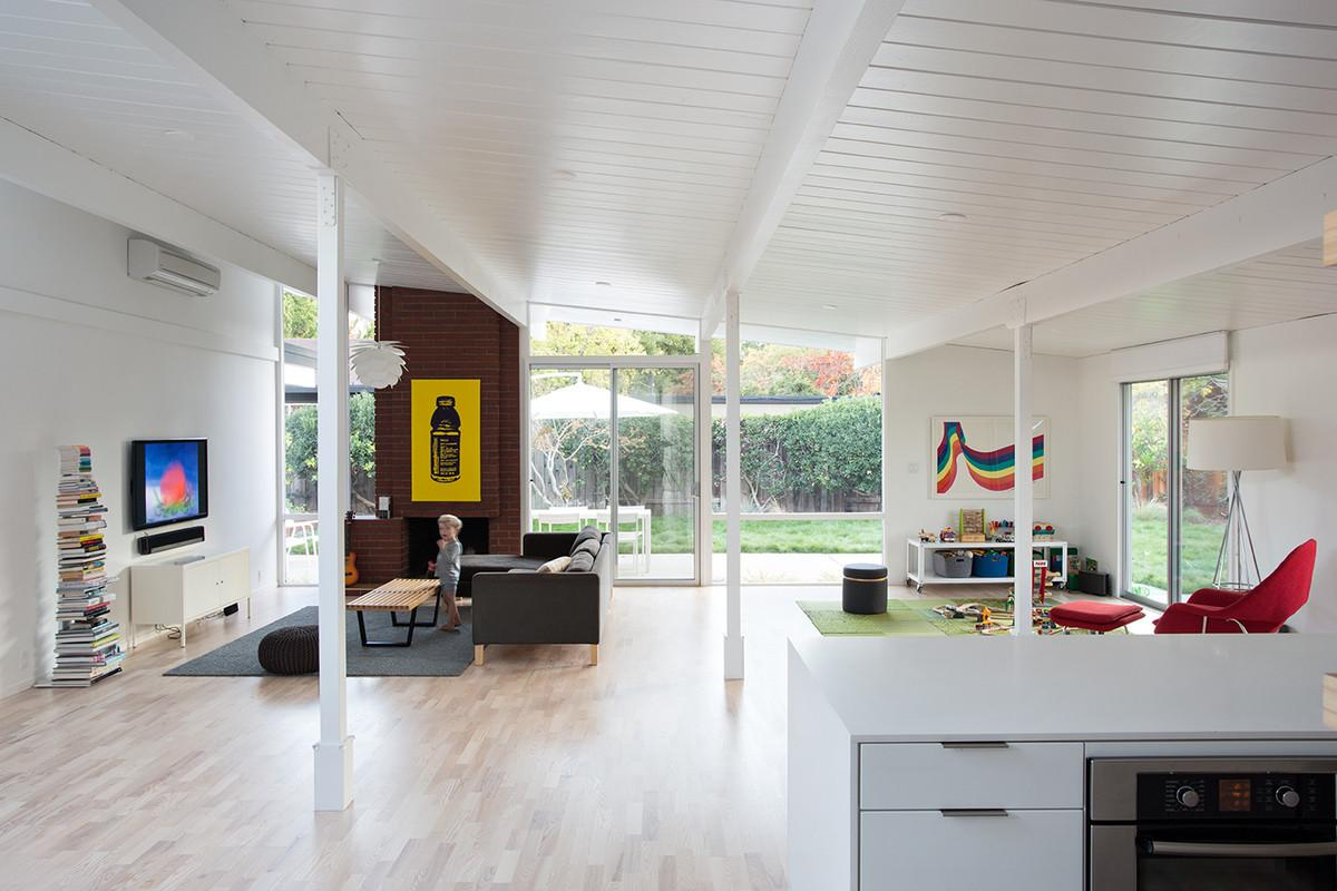 Eichler Great Room Remodel Klopf Architecture