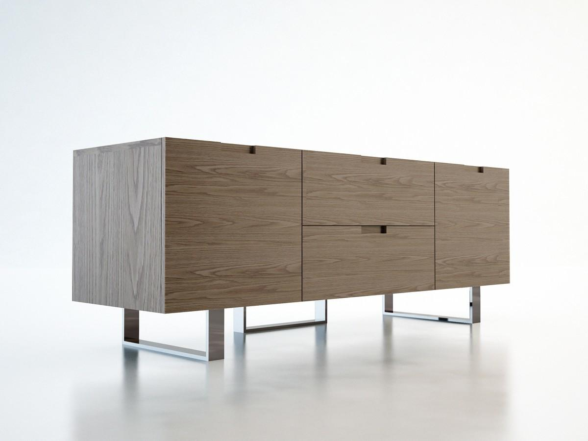 Eldridge Modern Media Cabinet Modloft