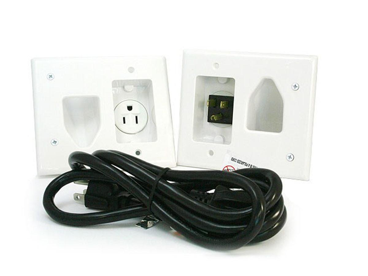 Electrical Run Wires Wall Mount