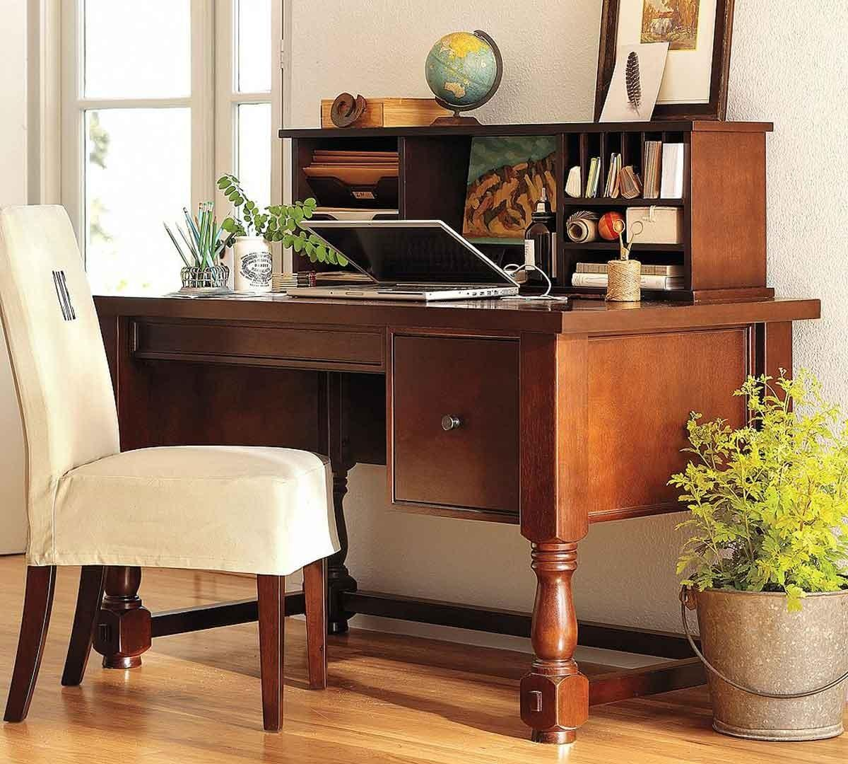 Elegance Vintage Home Office Decorating Ideas