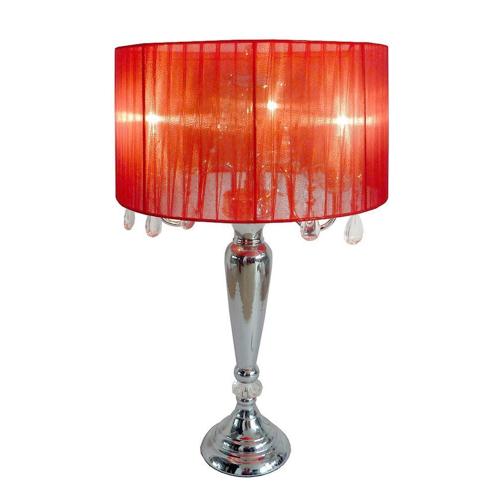 Elegant Designs Crystal Palace Trendy Romantic Red