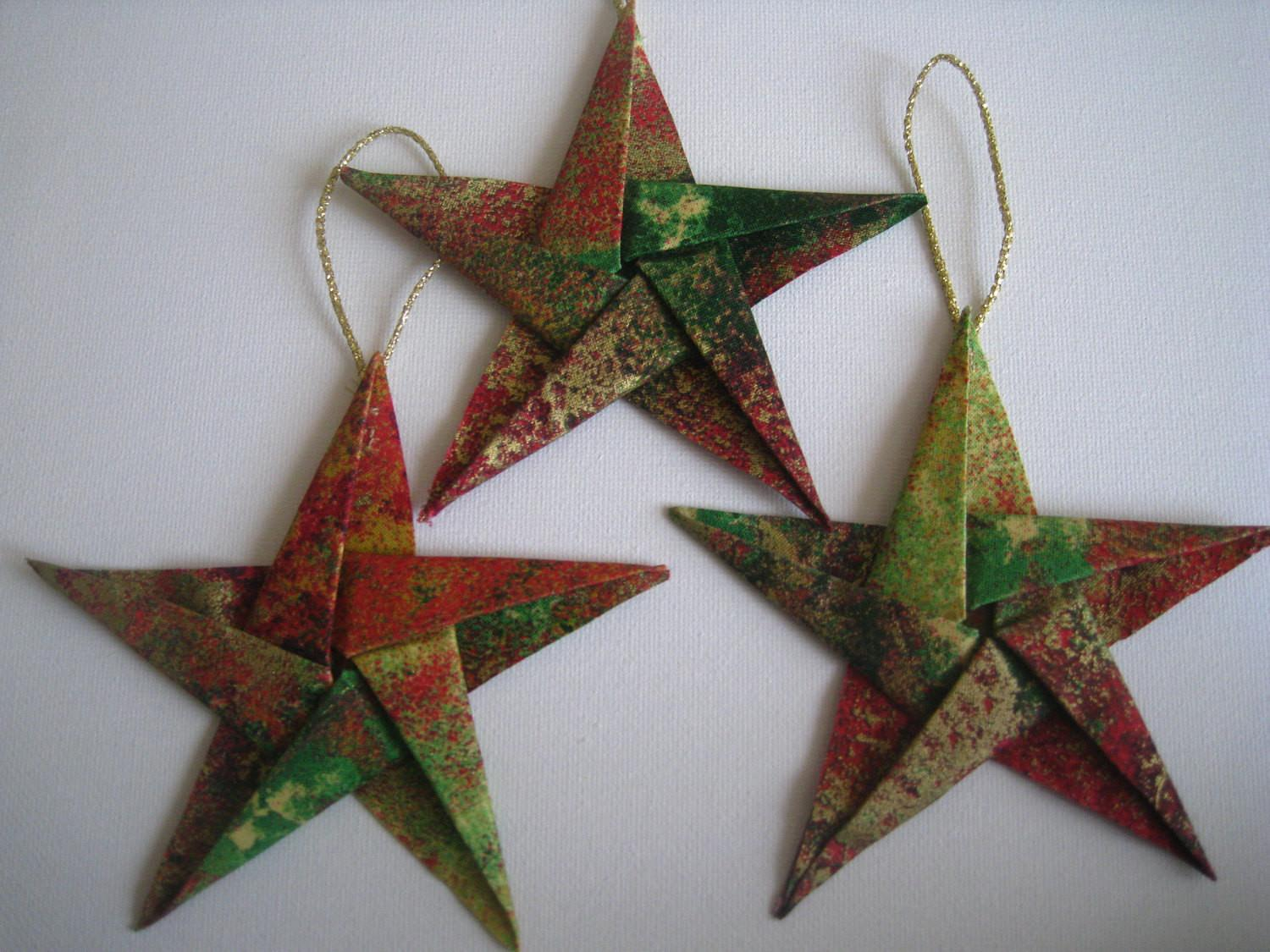 Easy Origami ornaments - origami star. DIY Wall hanging decor with ... | 1125x1500