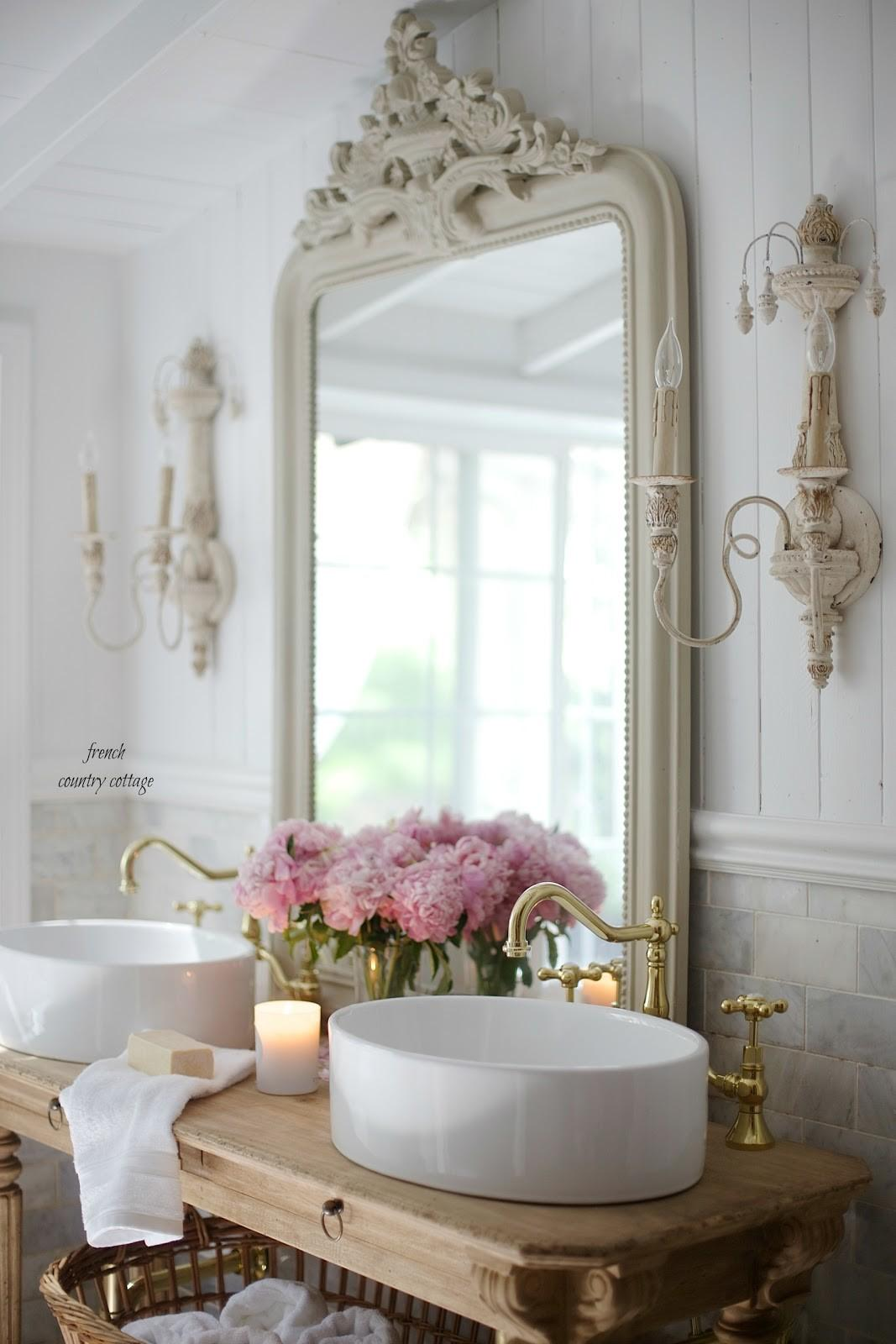 Elegant French Cottage Bathroom Renovation Peek Why