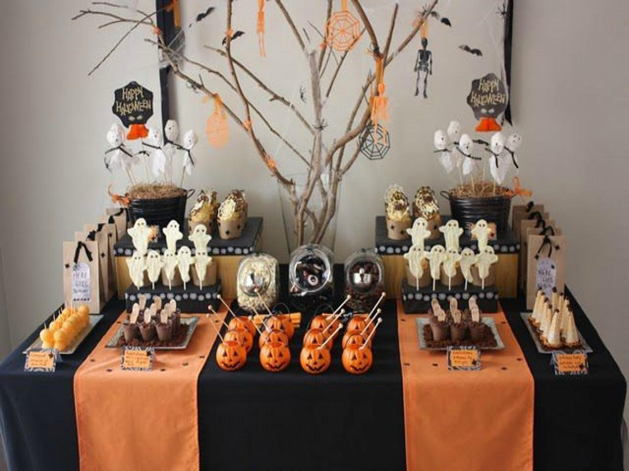 Elegant Halloween Decor Party Ideas