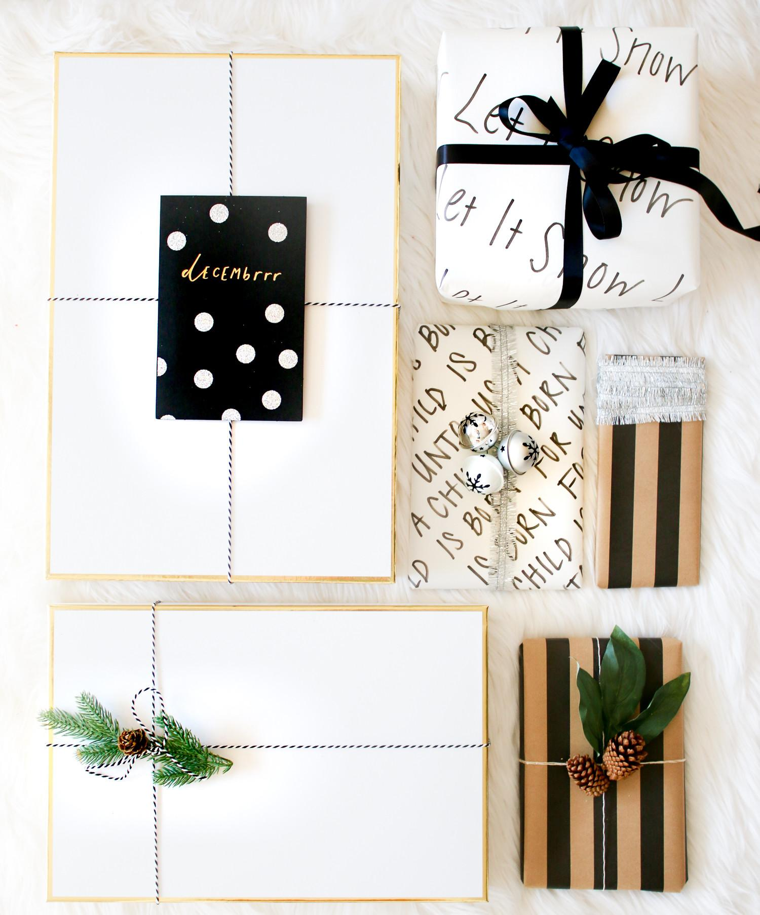 Elegant Holiday Gift Wrap Ideas Diary Debutante