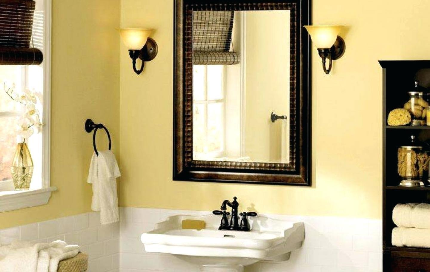 Elegant Home Design Bathroom Ideas Mirror Frame