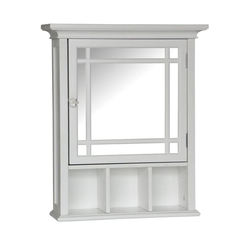 Elegant Home Fashions Neal Collection Mirrored