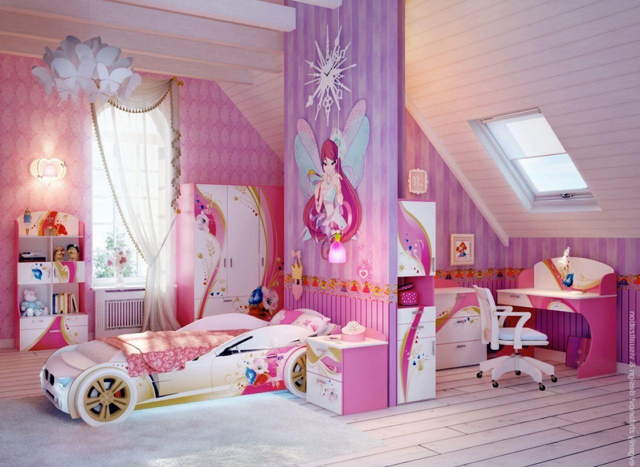 Elegant Princess Bedroom Ideas Additional Interior